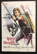 Robin Hood Movie Poster Spanish - Beautiful Graphics -  Hollywood Posters