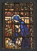View Of The Christopher Whall Window, Canterbury Cathedral. Stamp/postmark- 1992