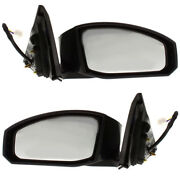 For 03-04 Z350 Rear View Door Mirror Power Non-heated Manual Folding Set Pair