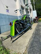 Harley Davidson Cholo Vicla 26 Front Wrap And 6 Stretched Rear Fender