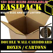 Double Wall - Strong Removal Cardboard Boxes - Various Sizes - Multi Listing