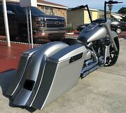 Road Star 6 Stretched Saddlebags Replacement Fender And Stock Lids Fits