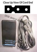 Foot Control Pedal W/ Cord Babylock Bl101 Ble1 Ble1at Ble1dx Ble1lx Blee1sx Ble8