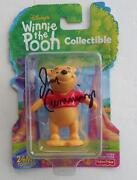Signed Sacanime Jim Cummings The Voice Of Winnie The Pooh Collectible Figure