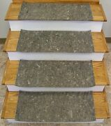 Rug Depot Stair Runner Padding - Felt And Rubber - 3/8 Thick - 28 X 12 Treads