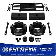 Fits 2007-2020 Toyota Tundra 3 Front + 1 Rear Complete Lift Leveling Kit 4wd