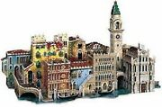 Wrebbit Puzz 3d Puzzle Foam - A Street In Venice- New Sealed Collectible