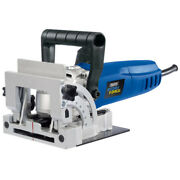 Draper 900w Biscuit Joiner Jointer Wood Work Saw Cutter In Case 83611 240v