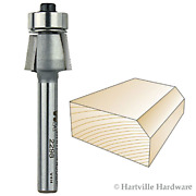 Whiteside Router Bits 2298 Edge Bevel Bit With 7-degree 3/8-inch Cutting Length