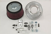 Randr Cycles Air Cleaner Kit For Harley Davidson Stock Throttle Body 08-later Tbw