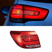 Oem Genuine Parts Rear Tail Light Lamp Lh Outside For Kia 2011-2016 Sportage R