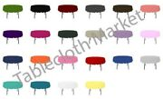 24 Pack 90 Inch Round Polyester Tablecloth 24 Color Table Cover Wedding Event