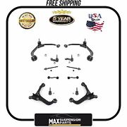 Chassis Kit Control Arms Tie Rods Sway Bar Ball Joints 5 Years Warranty