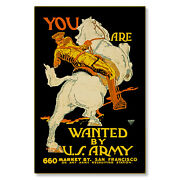 United States Us Army You Are Wanted Wwi Poster Metal Sign Steel Not Tin 24x36