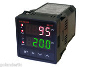 Pid On/off Manual Temperature Controller 1/16 Din