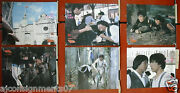 -set Of 8- Project A {'a' Gai Wak} {jackie Chan} Rare Kung Fu Org Lobby Card 80s