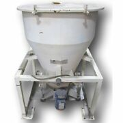 Used 10 Cubic Foot Peabody Solids Flow Portable Bin