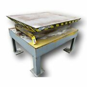 48 X 60 Autoquip Hydraulic Scissor Lift Table 3000 Lb Capacity 8and039 Lift Height