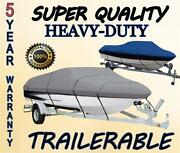 New Boat Cover Hewescraft-west Coast 160 Sportsman W/o Anchor Roller 2008-2019
