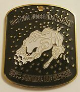 160th Soar A Tier 1 Sof Command Sm Dog Tag Coin Brass Plated 1st Battalion