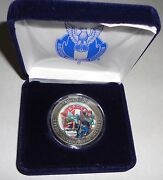 Nesa Eagle Scout Service Project Norman Rockwell Silver Coin Case 2013 Jamboree