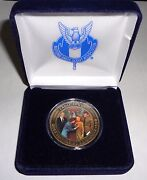 Nesa Eagle Scout Great Moment Norman Rockwell Bronze Coin And Case 2013 Jamboree