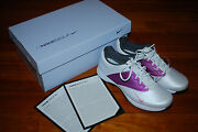 New Womenand039s Nike Pink Plum Lunar Saddle Golf Shoes 6 7 10 612671-102