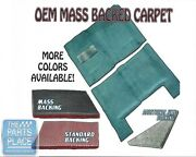 1962-67 Gm X Body Mass Backed Molded Carpet For Automatic Transmission