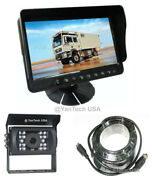 5 Color Lcd Reversing Hd Monitor And Ccd 700tvl Reverse Camera And 32ft 4-pin Cable