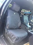 11 Thru 16 Ford Super Duty Gravel Seat Covers Captains Chair Front Pair