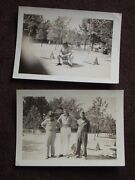 U.s Army Soldiers, One Sitting On A Pepsi Cola Advertising Tin Drum 1940's Photo