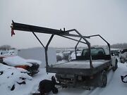 Cemetary Monument Transport Flat Bed Crane Trolley 1 Ton Chevy Ford Dodge