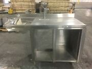 58-inch Stainless Stand Table Cabinet W Water Spout Sink - Need This Sold -offer