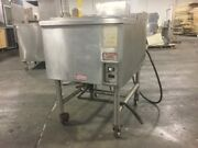 Commercial Stainless 24-inch Cold Bin On Casters - Need This Sold - Send Offer