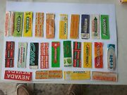 Chewing Gum Wrappers Lot 2