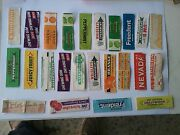 Chewing Gum Wrappers Lot 3