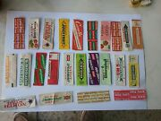 Chewing Gum Wrappers Lot 7