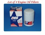 4 Oil Filters Ph400 Ace Made In Usa Fits Austin Chrysler Dodge Toyota Volvo