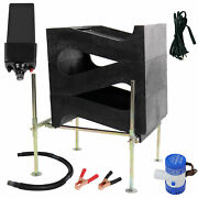 Gold Cube 3 Stack Deluxe Complete Gold Prospecting Kit And 120 Volt Power Supply