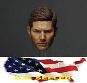 1/6 Jensen Ackles Dean Winchester Head For Supernatural Hot Toys Phicen ❶usa❶