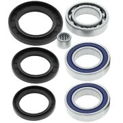 Fits Honda Atc250sx Atv Bearings And Seals Kit For Rear Differential 1985-1987