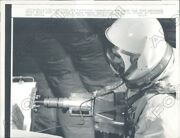 1966 Baltimore Maryland Technician Checks Out Power Tool For Space Press Photo
