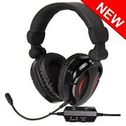 Gaming Headset For Ps3 Xbox 360 Mac Pc Game Sound And Chat 2.1 Extra Bass Stereo