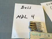 Old Car And Truck Fuse, Lot Of 4 In The Photo,  Pn Mdl4.  Item 0091
