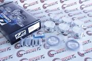 Cp Forged Pistons For Vg30dett 300zx Z32 Bore 87.5mm +0.5mm 8.51 Cr Sc7335