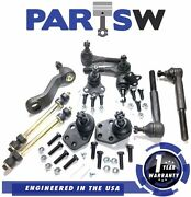 11 Parts Front End Kit Ball Joints Tie Rods Arms For Ram 1500 2wd 1 Yr Warranty