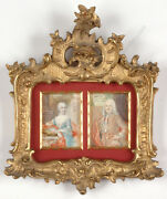 Joh. Christoph V. Reinsperger 1711-1777 Carl Vi And Marie Theresia