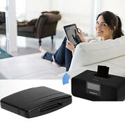 A2dp Bluetooth Receiver Adapter Audio Music For Ipod Iphone 30pin Dock Speaker