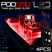 Red Piece Led Kit For Boat Marine Deck Interior Lighting