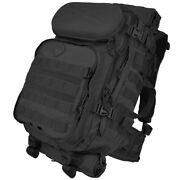 Hazard 4 Overwatch Rifle Roll-out Carry Day Pack Police Patrol Airsoft Bag Black